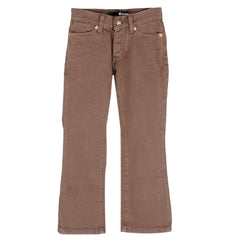 KR3W K Slims Youth Pants - Brown Rinse - Youth Size