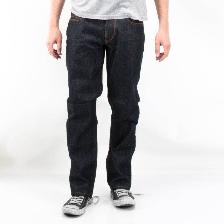 LRG Core TS Men's Pants - Raw Dark Indigo - Size 30