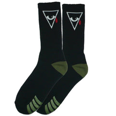 Alien Workshop Psyop Men's Socks - Black (1 Pair)