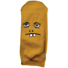Toy Machine Betard Fooser Ankle Men's Socks - Mustard (1 Pair)
