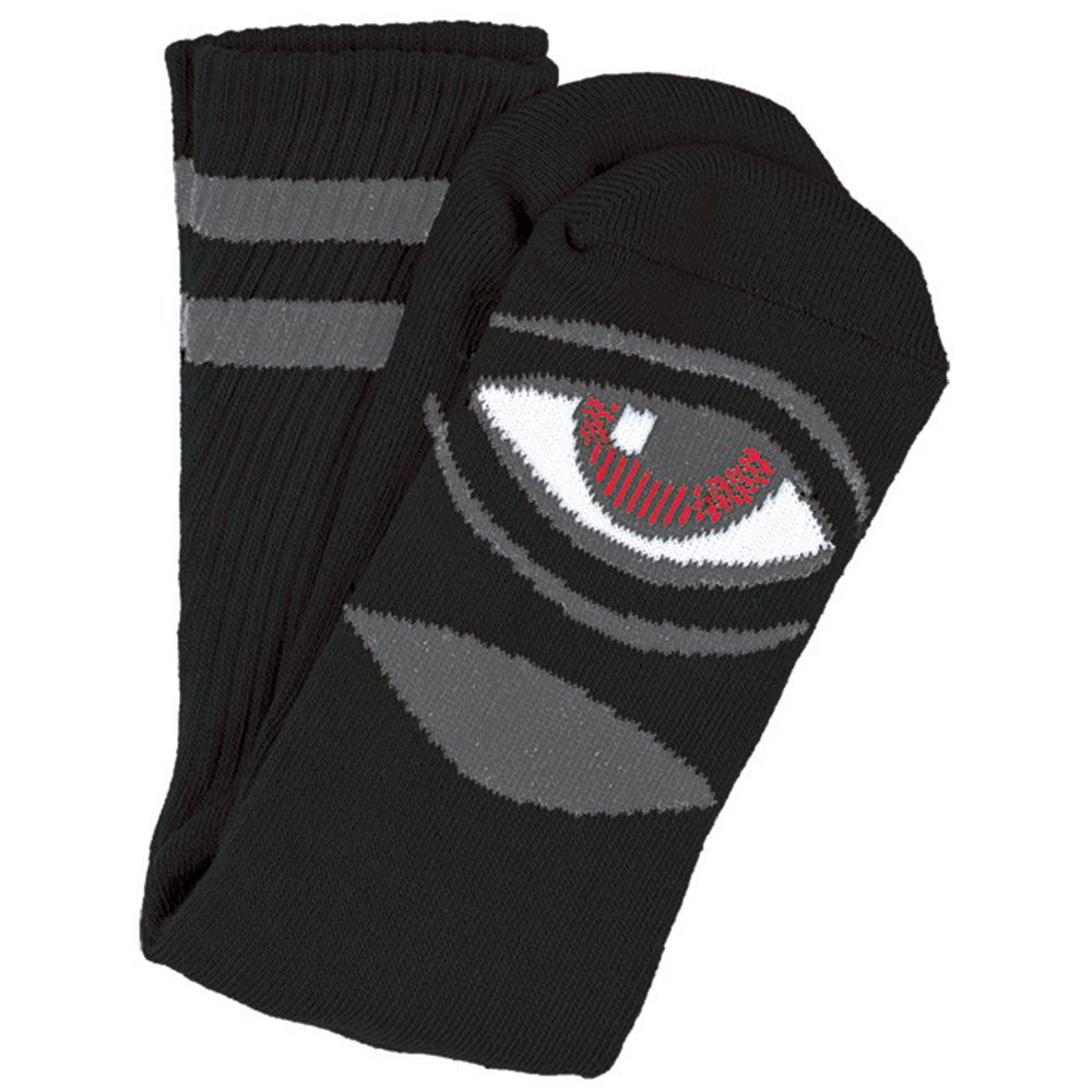 Toy Machine Sect Eye III Men's Sock - Blacks (1 Pair)