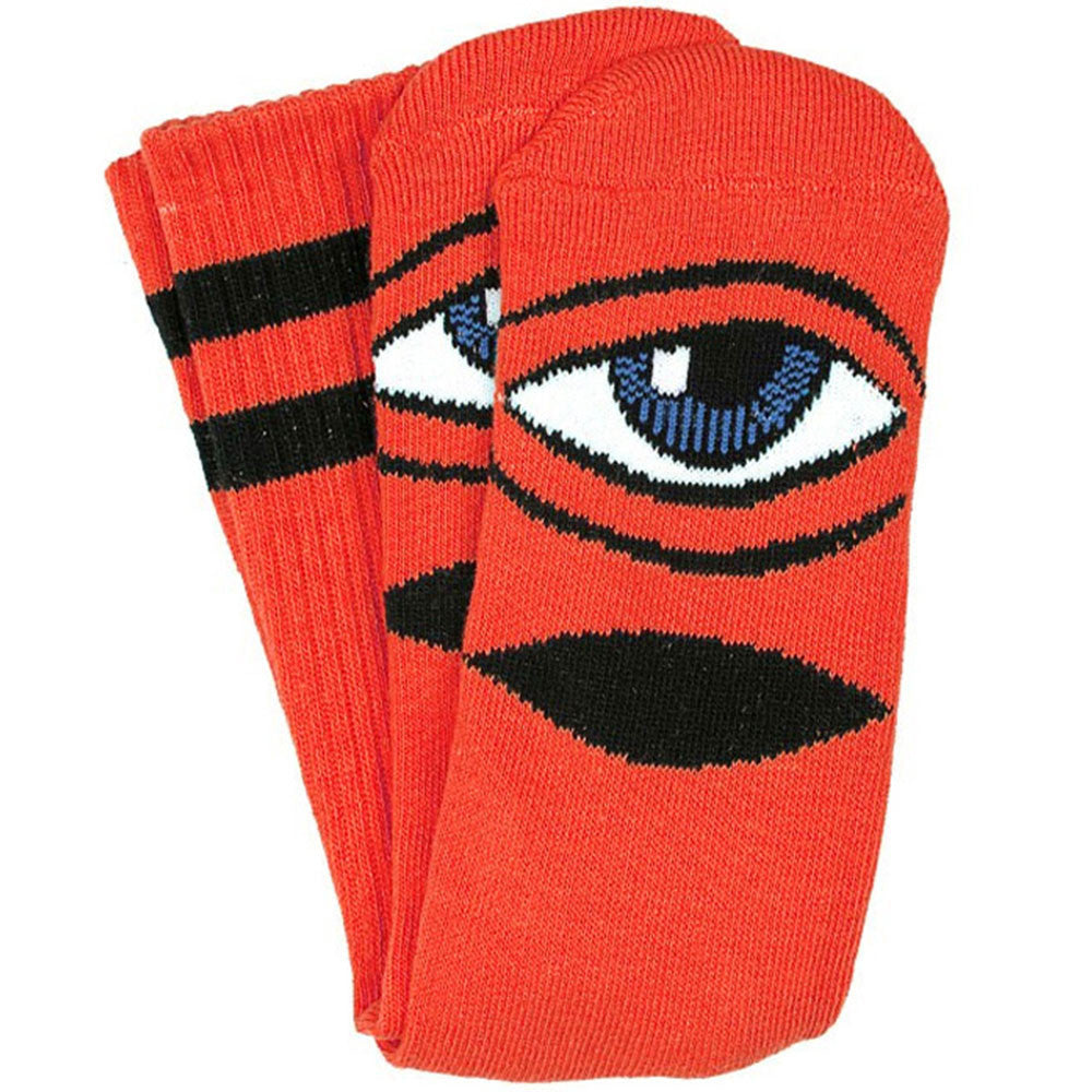 Toy Machine Sect Eye III Men's Sock - Reds (1 Pair)