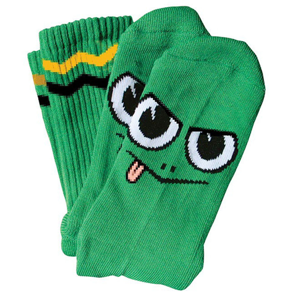 Toy Machine Angry Turtle Men's Sock - Greens (1 Pair)