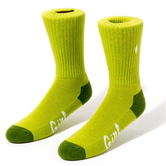 Girl Micro OG Men's Socks (1 Pair) - Kelly