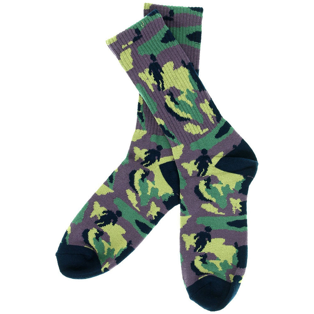 Girl OG Jungle Men's Socks (1 Pair) - Purple