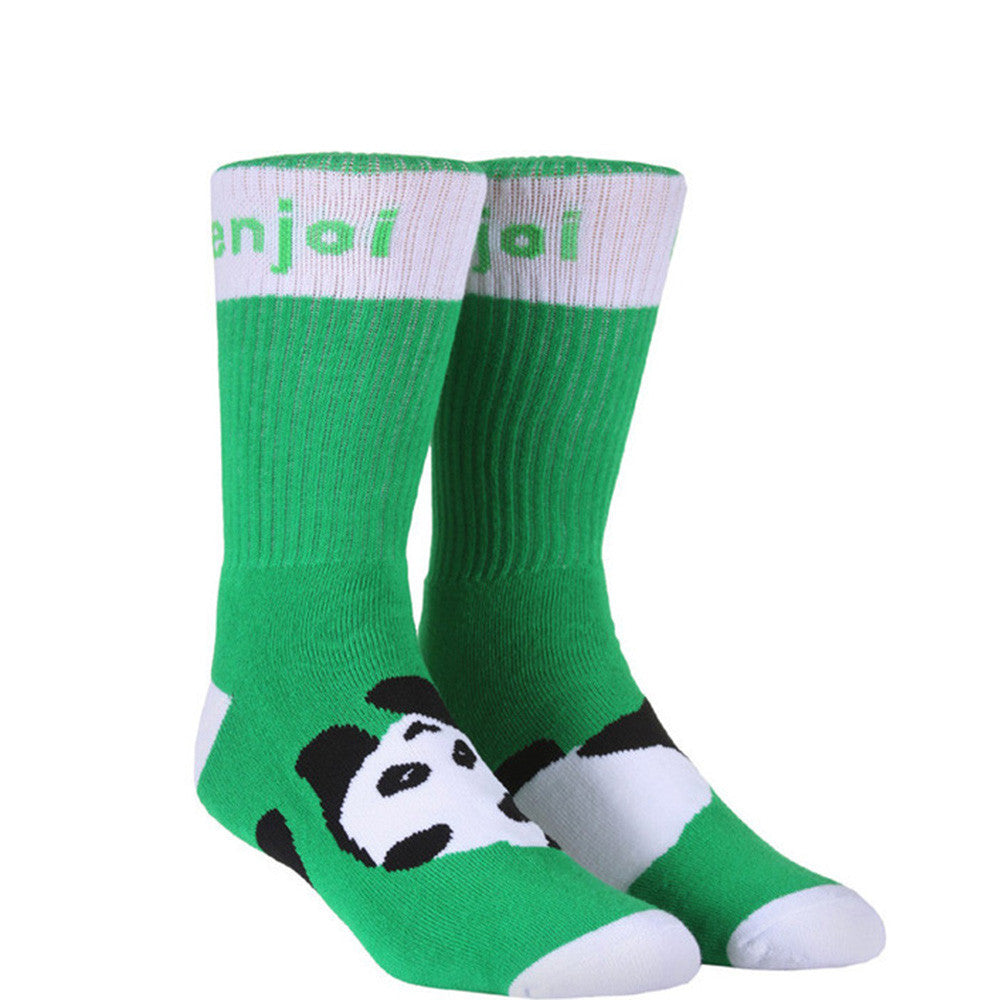 Enjoi Panda Feet Men's Socks - Green (1 Pair)