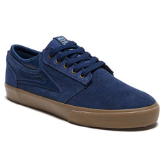 Lakai Griffin Men's Skateboard Shoes - Navy/Gum Suede