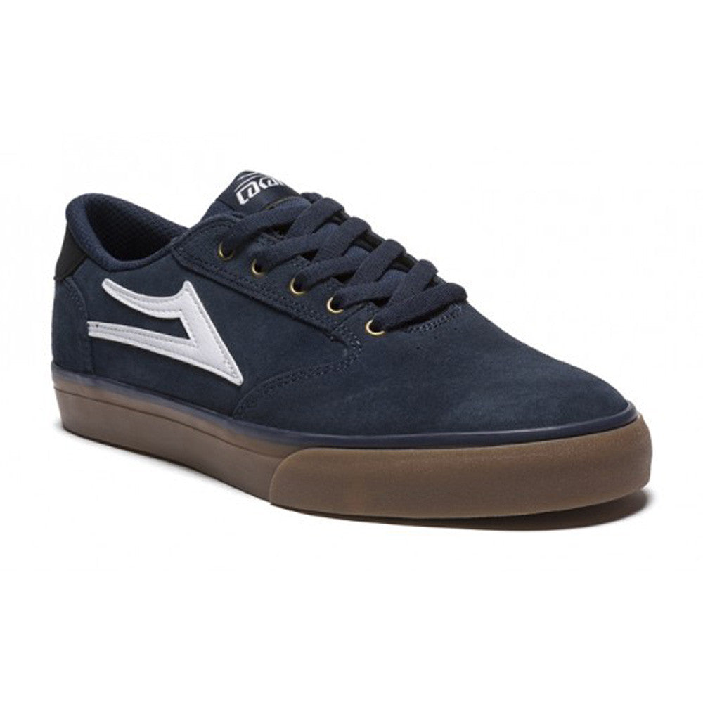 Lakai Pico Men's Skateboard Shoes - Navy Suede