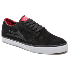 Lakai Griffin Men's Skateboard Shoes - Black/Spitfire Suede