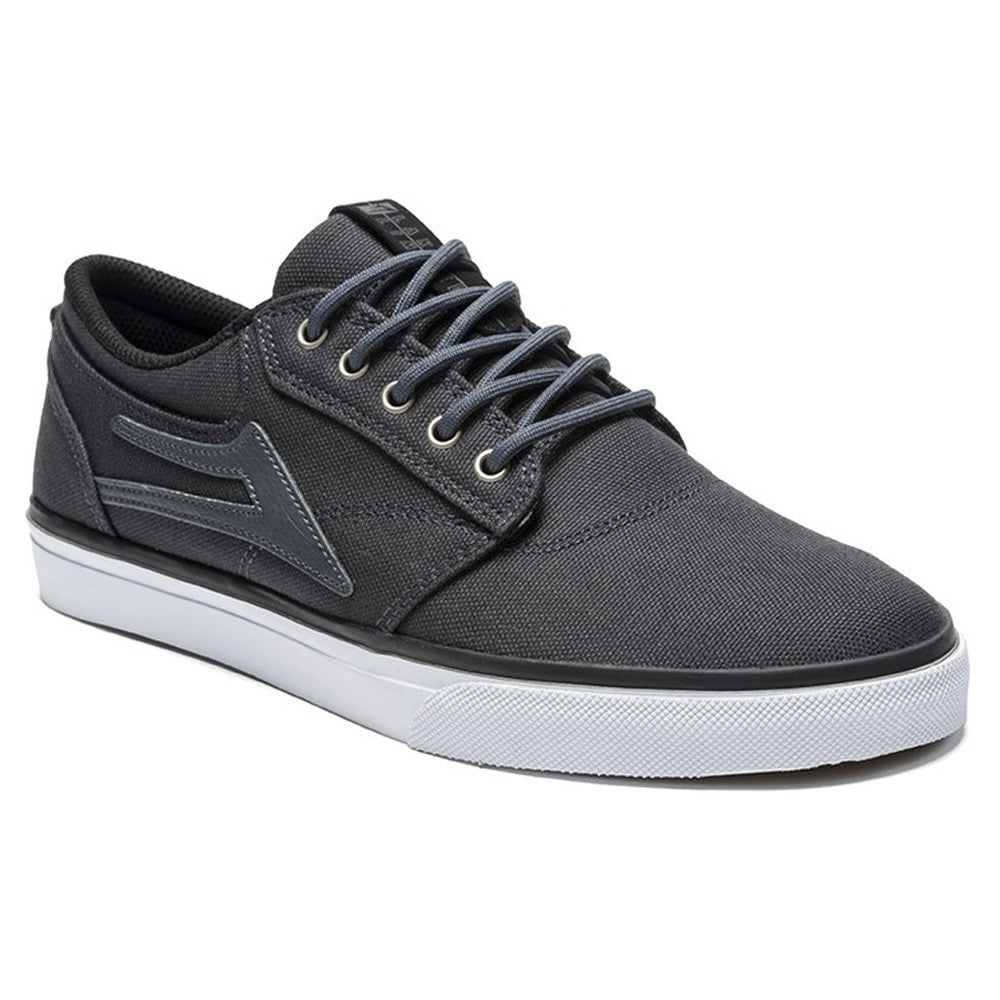 Lakai Griffin Men's Skateboard Shoes - Dark Shadow Canvas