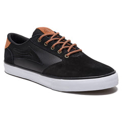 Lakai Pico Men's Skateboard Shoes - Black Suede