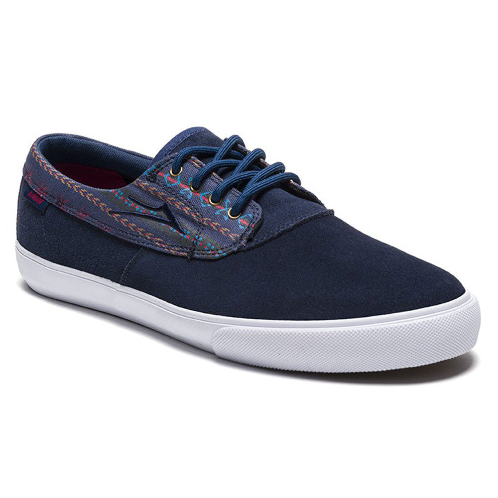 Lakai Camby Men's Skateboard Shoes - Navy Suede