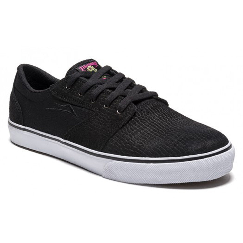 Lakai Fura Thrasher Men's Skateboard Shoes - Black/Misc. Suede
