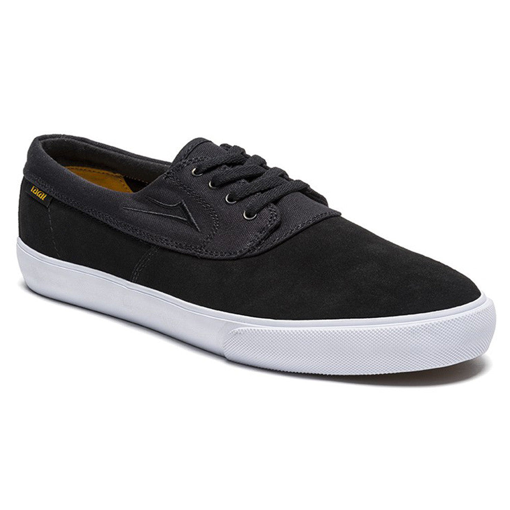 Lakai Camby Men's Skateboard Shoes - Black Suede