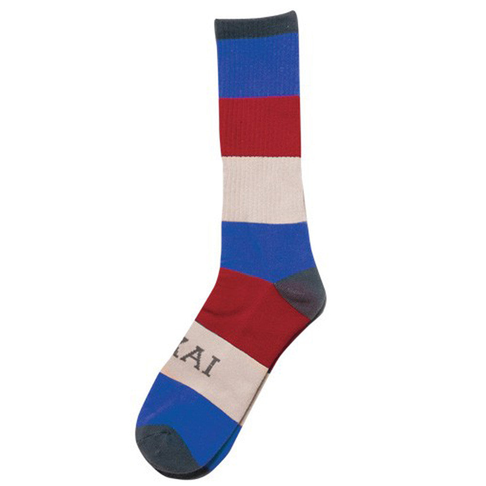Lakai Stripe Men's Socks - Blue (1 Pair)