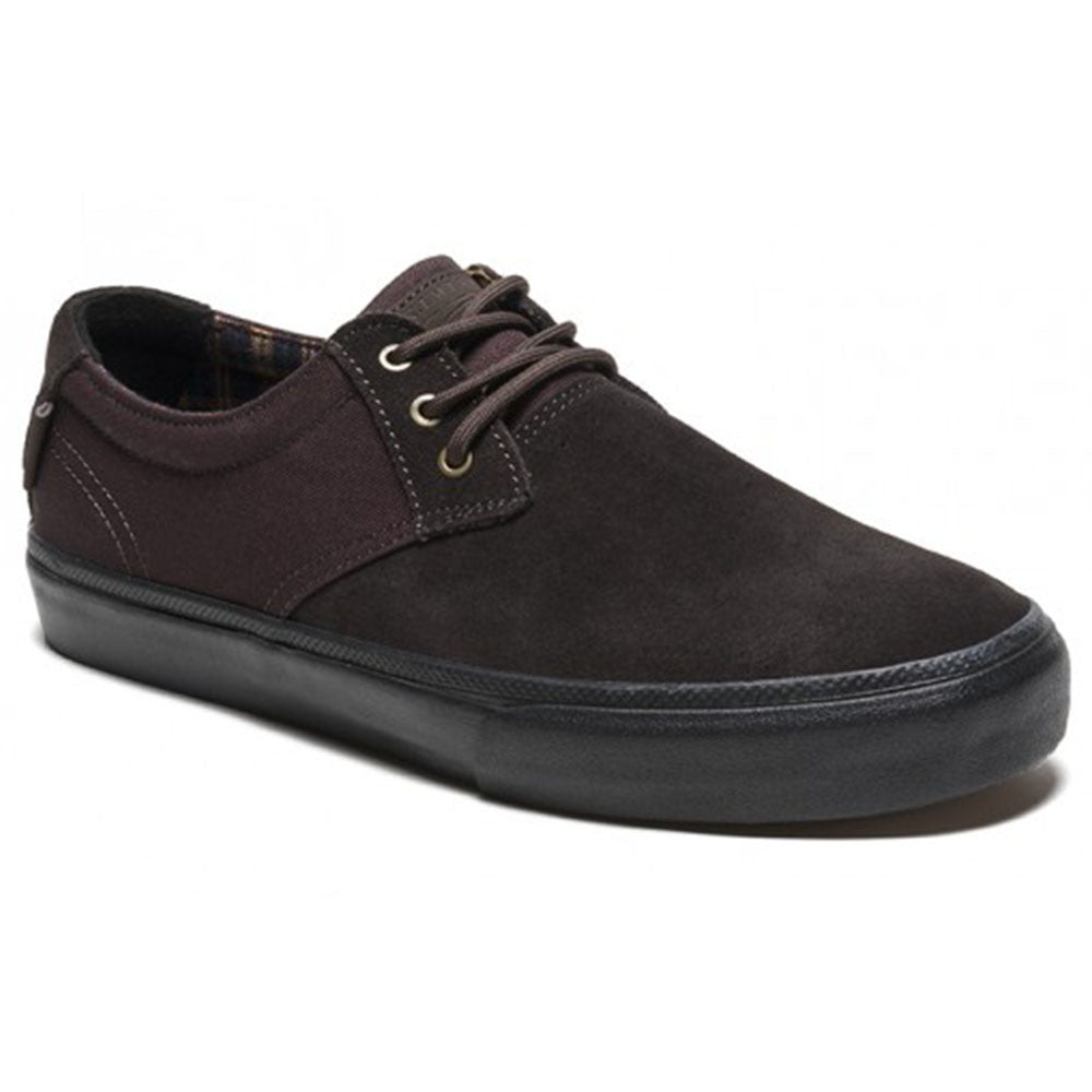 Lakai MJ Men's Skateboard Shoes - Brown/Black Suede