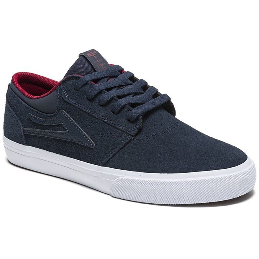 Lakai Griffin Men's Skateboard Shoes - Midnight Suede