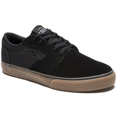 Lakai Fura Men's Skateboard Shoes - Black/Gum Suede