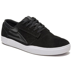 Lakai Griffin XLK Men's Skateboard Shoes - Black/White