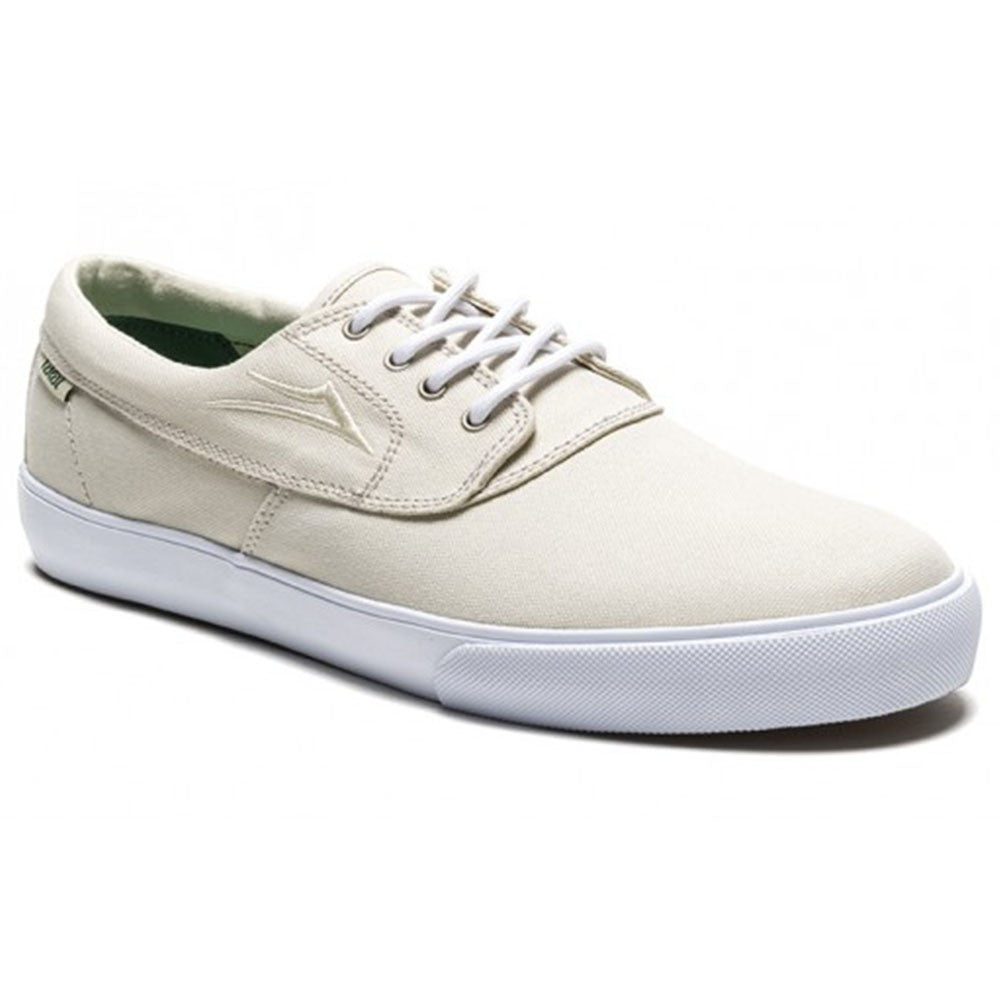 Lakai Camby Men's Skateboard Shoes - Cream Canvas