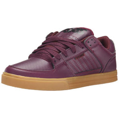 Osiris Protocol Men's Skateboard Shoes - Burgundy/Black/Gum