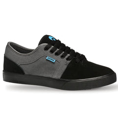 Osiris Decay Men's Skateboard Shoes - Black/Cyan