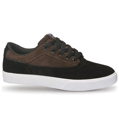 Osiris Caswell VLC Men's Skateboard Shoes - Black/Brown/White