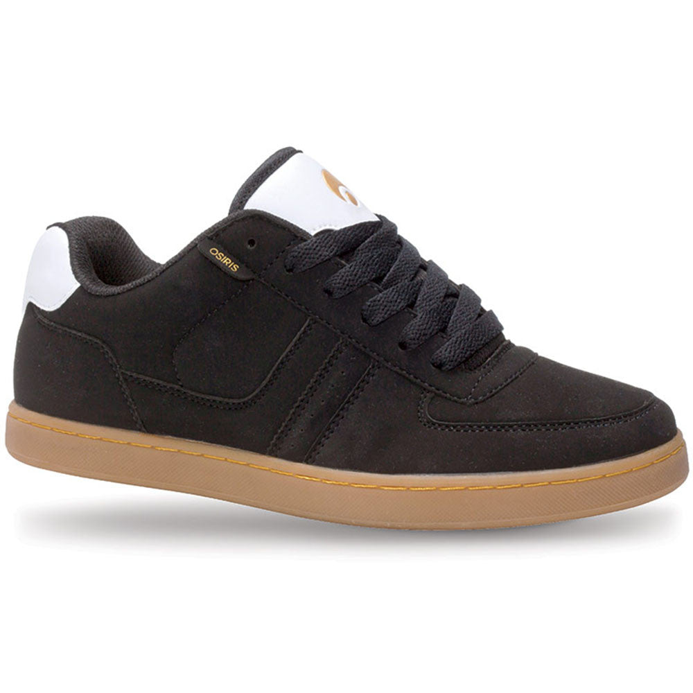 Osiris Relic Men's Skateboard Shoes - Black/White/Gold
