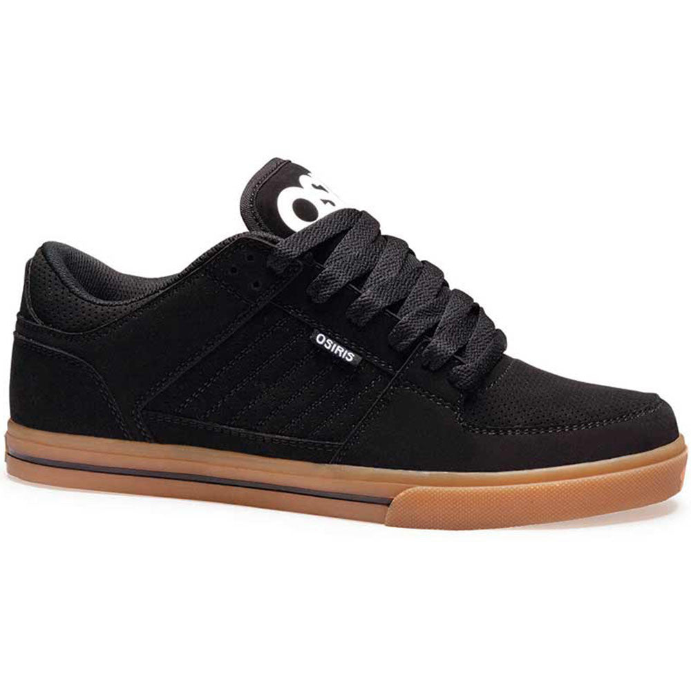 Osiris Protocol Men's Skateboard Shoes - Black/White/Gum