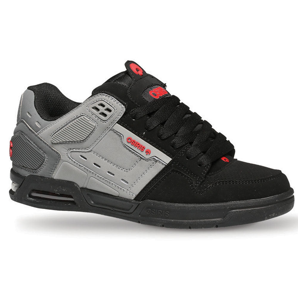 Osiris Peril Men's Skateboard Shoes - Grey/Red