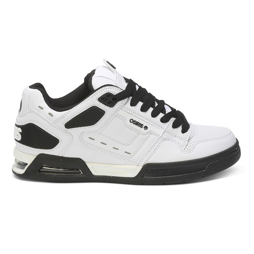 Osiris Peril Men's Skateboard Shoes - White/Black