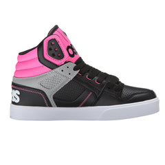 Osiris Clone Women's Skateboard Shoes - Black/Pink