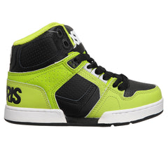 Osiris NYC 83 Boy's Skateboard Shoes - Lime/White