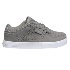 Osiris Protocol Boy's Skateboard Shoes - Grey/White