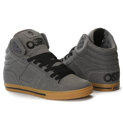 Osiris Clone Men's Skateboard Shoes - Charcoal/Gum