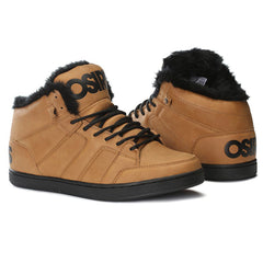 Osiris Convoy Mid SHR Men's Skateboard Shoes - Brown/Work