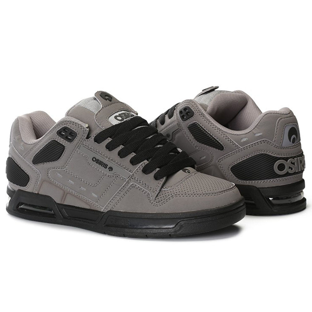 Osiris Peril Men's Skateboard Shoes - Grey/Black/Black