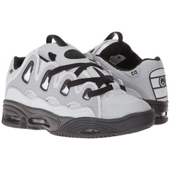 Osiris D3 2001 Men's Skateboard Shoes - Grey/Grey/Black