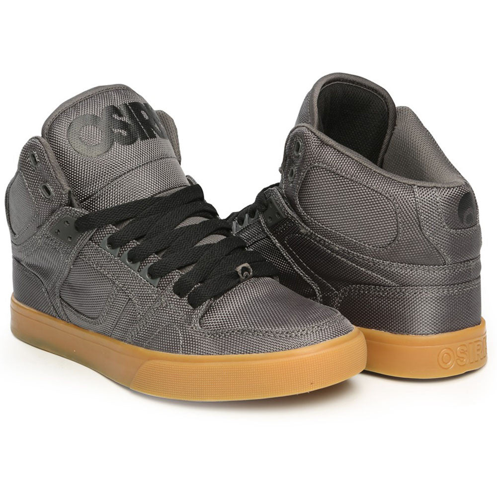 Osiris NYC 83 Vulc Men's Skateboard Shoes - Dark Grey/Gum