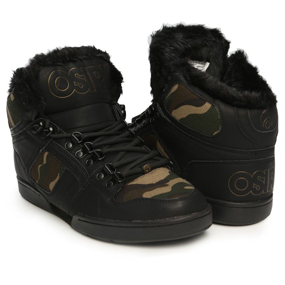 Osiris NYC 83 Shearling Men's Skateboard Shoes - Surplus/Turner