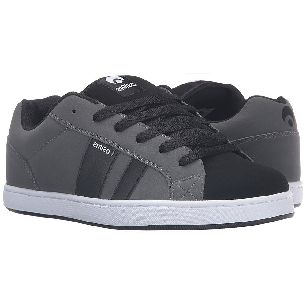 Osiris Loot Men's Skateboard Shoes - Charcoal/White/Black
