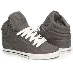 Osiris Clone Men's Skateboard Shoes - Grey/Denim