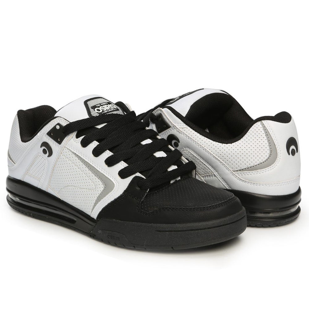 ee8ae563b1 Osiris PXL Men's Skateboard Shoes - White/Black. Enlarge Image