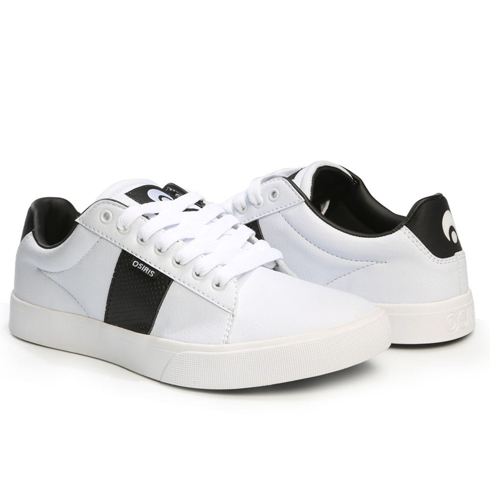 Osiris Rebound VLC Men's Skateboard Shoes - White/Black