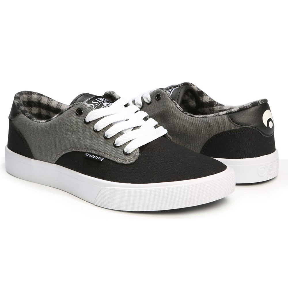 Osiris Slappy VLC Men's Skateboard Shoes - Charcoal/Black
