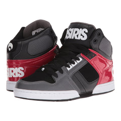 Osiris NYC 83 - Men's Skateboard Shoes - Dark Grey/Red