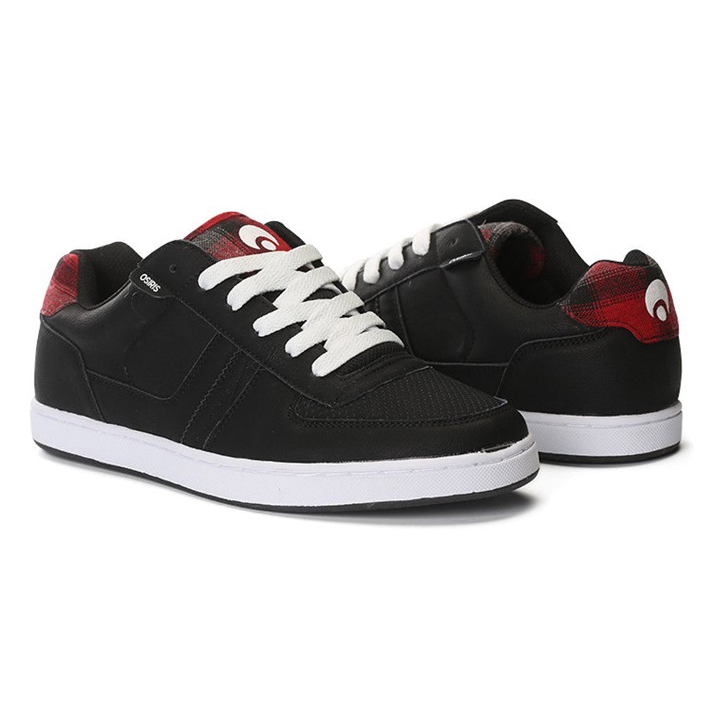 Osiris Relic - Men's Skateboard Shoes - Black/Plaid