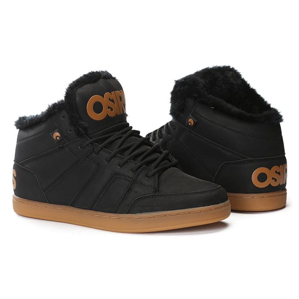 Osiris Convoy Mid SHR - Men's Skateboard Shoes - Black/Work