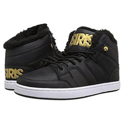 Osiris Convoy Mid SHR - Women's Skateboard Shoes - Black/Gold