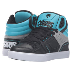 Osiris Clone Women's Skateboard Shoes - Black/LT. Blue